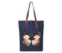 Fly Canvas Medieval Blue Shopper 1707400002-253