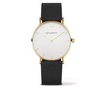 Sailor Line Gold/White Sand Metal Uhr PH-SA-G-ST-W-5M