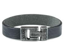 Vintage Black Armband 24666-BRA-VB-BLACK (Länge: 22.30 cm)