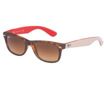 New Wayfarer Sonnenbrille Matte Havana RB2132 618185