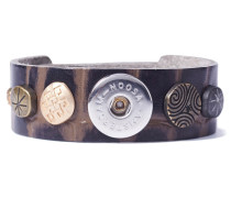 Divali Print Skinny Brown Armband WBS-131-66-S