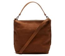 Core Medium Waxed Grain Leather Caramel Umhängetasche 2620200113004-M