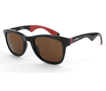 Sonnenbrille Black/Red Rubber