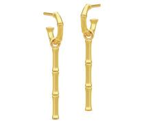 Bamboo Integrity Mini Hoop Ohrringe HPS84GD