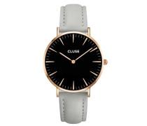 La Boheme Rose Gold Black/Grey Uhr CL18018