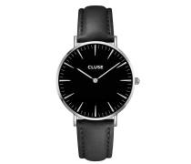 La Boheme Silver Black/Black Uhr CL18201