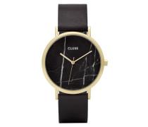 La Roche Gold Black Marble/Black Uhr CL40004