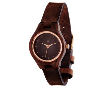 Adelheid Sandelwood/Tanned Brown Uhr