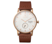Falken Rose Falken Brown Classic Uhr FAST101CL010214