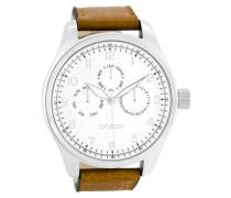 Timepieces Cognac/Weiß Uhr C7845 ( mm)