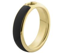 Vivid Resine Ring Black/Gold