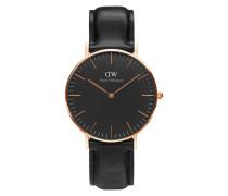 Classic Black Sheffield Uhr DW00100139 ( mm)