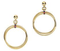Ohrringe Rolling Rings Gold TJ2700575