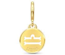 Libra Zodiac Coin Gold Charm 53346-7