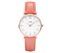 Minuit Rose gold/Flamingo Uhr CL30045