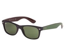 New Wayfarer Sonnenbrille Matte Black RB2132 61844E