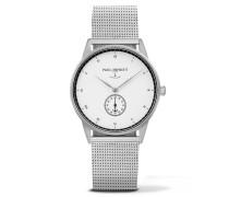 Signature Line Silver/White Ocean Metal Uhr PH-M1-S-W-4M