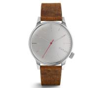 Winston Walnut Uhr KOM-W2103