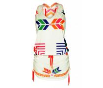 Jerseykleid Navajo in weiß