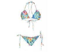 Inked Babe Padded Triangel Bikini