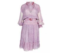 Clara Minikleid in Pink Geo Flower
