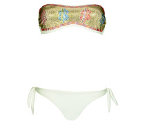 Padded Bandeau Bikini Dollar