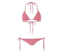 Cancun Padded Triangel Bikini Nautical Rot