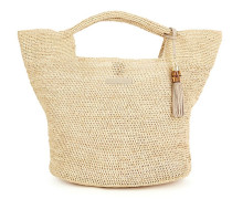 Grace Bay Mini Raffia Bucket Bag Natur