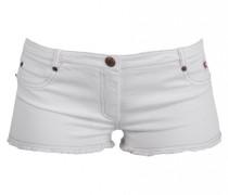 Demin Shorts mit Fransen
