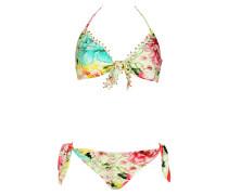 Bügel-Bikini mit Blumenprint C/D Cup