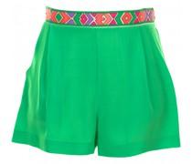 Shorts aus Seide