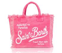 Vanity Strandtasche in Pink
