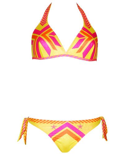 Triangle Bikini Navajo in gelb C/D Cup