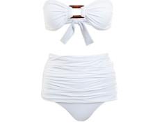 Bandeau Bikini Antibe White