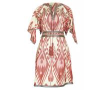 Ikat Seiden-Kleid