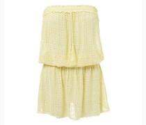 Adela Bandeau Kleid in gelb