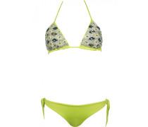 Swarovski-Triangle Bikini