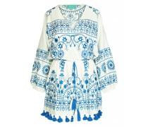 Capri Kleid mit Stickerei