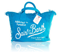 Vanity Strandtasche in Blau
