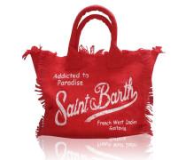 Vanity Strandtasche in Rot