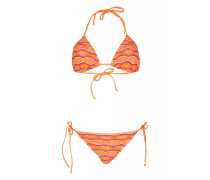 Belisa Padded Triangel Bikini orange