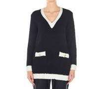 Pullover in Boucle-Optik