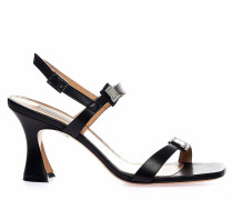 Sandaletten mit Strass-Applikation