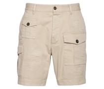 Kargo shorts mit destroyed details
