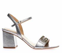 Metallic-Sandaletten