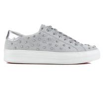 Glitzer-Sneakers mit Nieten