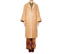 Mantel aus Wolle-Mohair-Gemisch