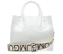 Handtasche mit Logodetails