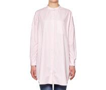 Hemdkleid mit Streifenprint