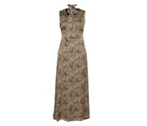 Kleid mit Zebra-Print